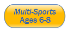 multi sports 6 to 8 years old