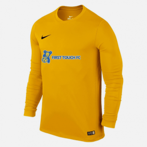 yellow nike first touch jersey