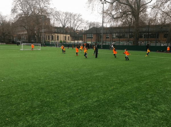 First Touch Football training